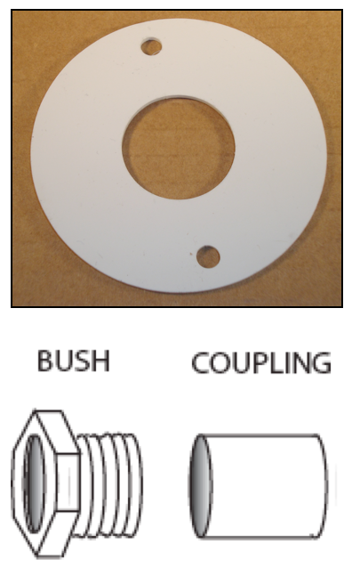 EVK (bush coupling and finished disk)